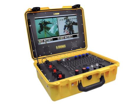 sistema video subacqueo c-tecnics